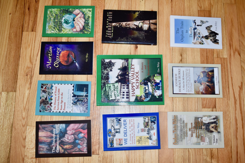 Tom Riley Books