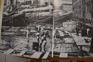 NEW YORK STREET KIDS--Courtesy of Children's Aid Society: The Piers and Docks of the Fulton Fish Market