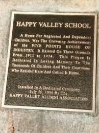 Happy Valley School Plaque
